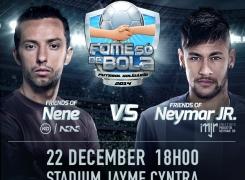 Nene et Neymar JR pour la bonne cause.