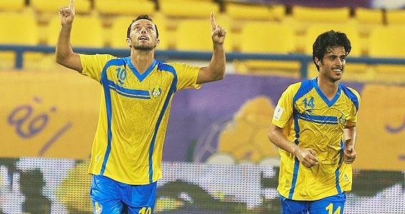 Gol de Nenê garante empate ao Al-Gharafa