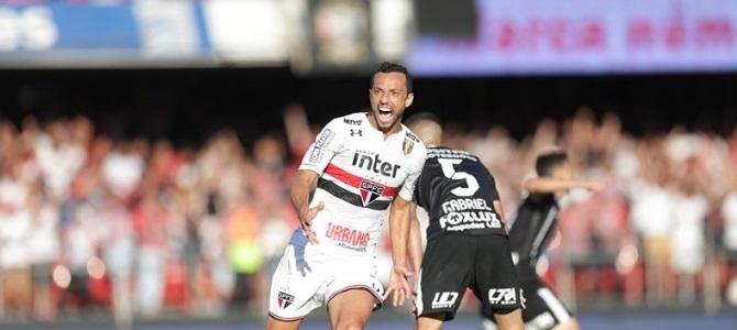 Com gol de Nenê, São Paulo sai na frente na semi do Paulistão