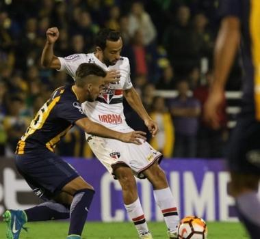 Nenê elogia postura do São Paulo na estreia da Copa Sul-Americana