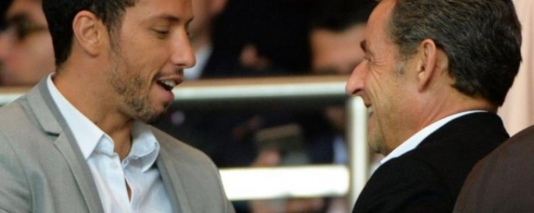 Craque é tietado por Sarkozy no Parque dos Príncipes