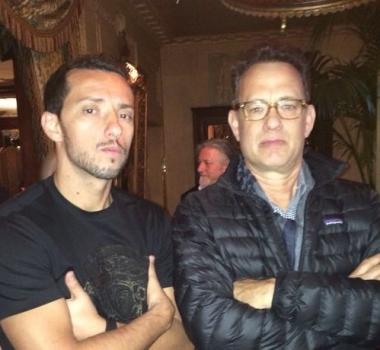 Nenê et Tom Hanks